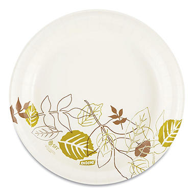 Dixie Paper Plates, Medium Weight, 8-1/2