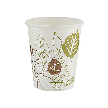 Dixie Pathways Paper Hot Cups, 10 oz., 1000 ct. (2340PATH)