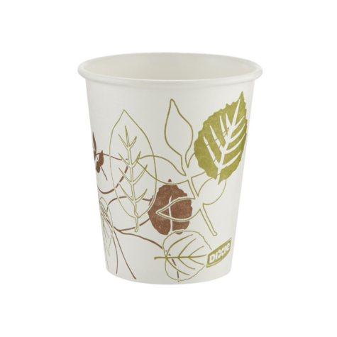 Dixie Pathways Paper Hot Cups, 10oz -  1000/Carton