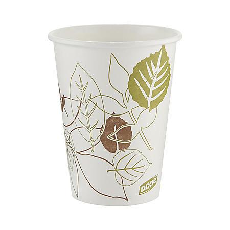 Dixie Pathways Paper Hot Cups, 12 oz, 1000 ct (2342PATH)