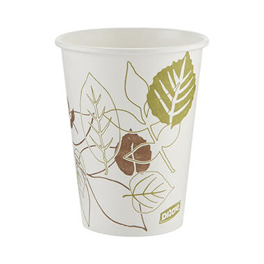 Dixie Hot Paper Cups, 12 oz. (1,000  ct.)