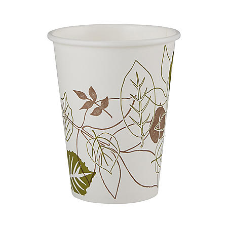 Dixie Pathways Paper Hot Cups, 12 oz, 500 ct (2342WS)