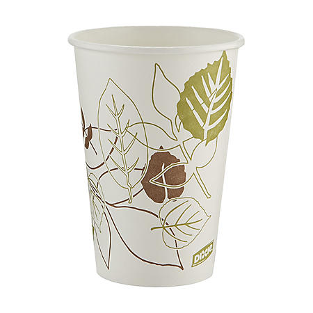 Dixie Pathways Paper Hot Cups, 16 oz, 1000 ct (2346PATH)