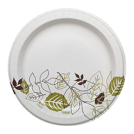 "Dixie Ultra Pathways Paper Plates, Heavyweight, 10.12"", 500 ct (SXP10PATH)"