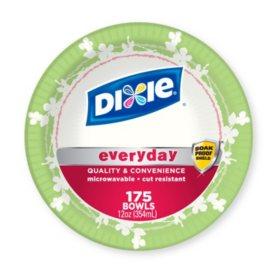 Dixie 12 oz. Paper Bowls (175 ct.)
