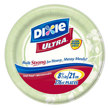 Dixie Ultra - Paper Plate, 8 1/2