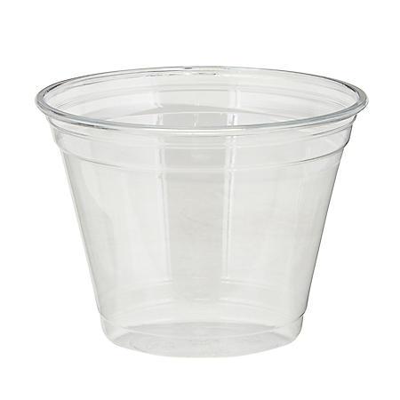 Dixie® PETE Cold Plastic Cups by GP PRO, 9 oz, 1000 ct (CPET9)