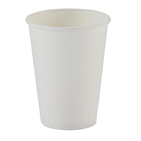 Dixie PerfecTouch Insulated Paper Cups, White (Various Sizes)