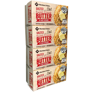 Daily Chef Salted Butter (1 lb., 4 ct.)
