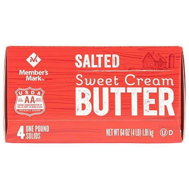 Daily Chef Salted Sweet Cream Butter (1 lb., 4 ct.)