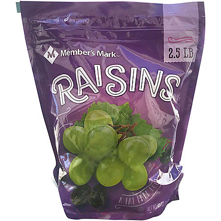 **Deleted - Member's Mark Raisins (40 oz.)