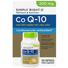 Simply Right Co Q-10 200mg - 120 ct.