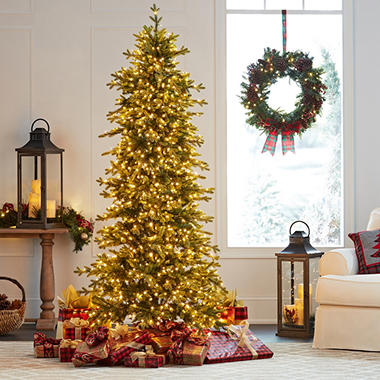 members mark 75 sherman spruce micro led christmas tree - Is Sams Club Open On Christmas Eve