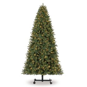 members mark 7 9 grow and stow adjustable height sonoma fir christmas tree