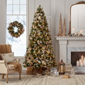 members mark 9 color changing virginia pine christmas tree