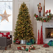 sams exclusive members mark 75 douglas fir christmas tree - African American Outdoor Christmas Decorations