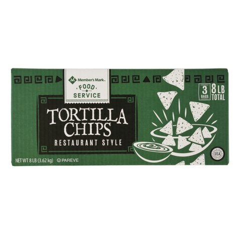 Member's Mark Restaurant Style Tortilla Chips (8 lbs.)