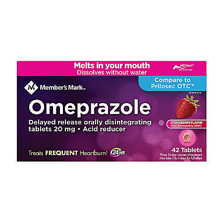 Member's Mark Omeprazole Delayed Release Disintegrating Tablets 20 mg (42 ct.)