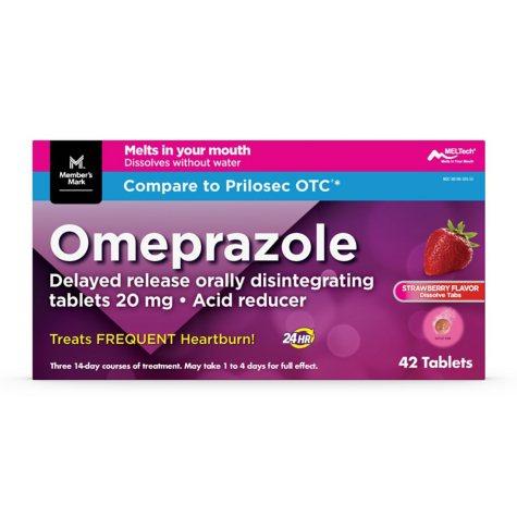 Member's Mark Omeprazole Delayed Release Disintegrating Tablets 20 mg (42 ct.)