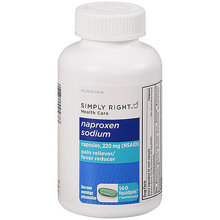 Simply Right™ Naproxen Sodium - 160 ct.