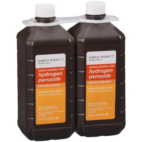 Simply Right Hydrogen Peroxide - 32 fl. oz. - 2 ct.