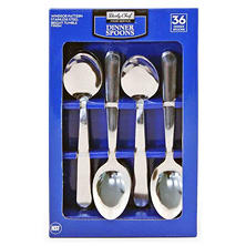 Daily Chef Oval Soup Spoons (36pcs.)