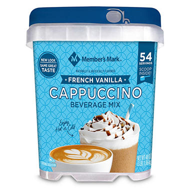 Member's Mark French Vanilla Cappuccino Beverage Mix (48 oz.)