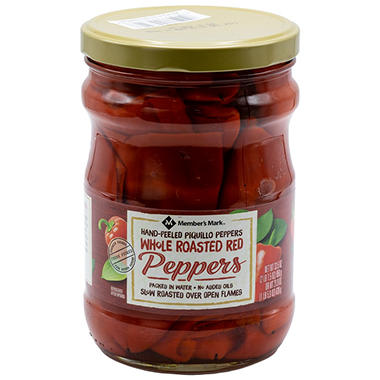 Member's Mark Whole Roasted Red Peppers (33.5 oz.)