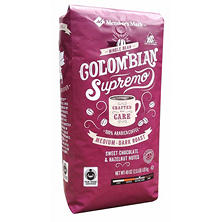 Member's Mark Fair Trade Certified Colombia Supremo Coffee, Whole Bean (40 oz.)