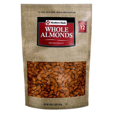 Member's Mark Whole Almonds (48 oz.)