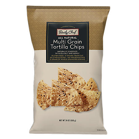 Daily Chef Multigrain Tortilla Chips - 24 oz.