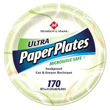 Memberu0027s Mark Ultra Paper Plates ...  sc 1 st  Samu0027s Club & Memberu0027s Mark Ultra Paper Plates 10 1/16