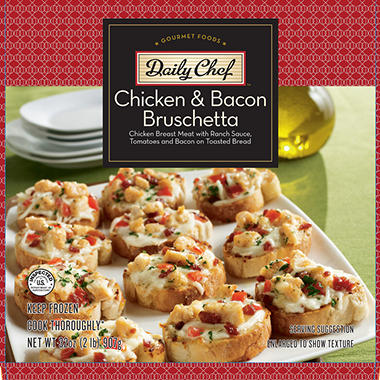 Daily Chef Chicken & Bacon Bruschetta - 32 oz.