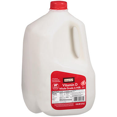 Daily Chef Vitamin D Whole Milk (1 gal.) - Sam's Club