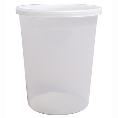 Member's Mark Deli Container with Lid (32 oz., 240 ct.)