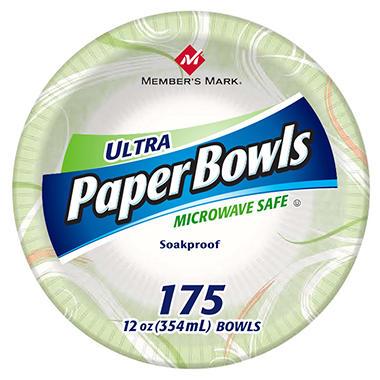 Memberu0027s Mark Ultra Paper Bowls - 12 oz. - 175 ct.  sc 1 st  Samu0027s Club & Memberu0027s Mark Ultra Paper Bowls - 12 oz. - 175 ct. - Samu0027s Club