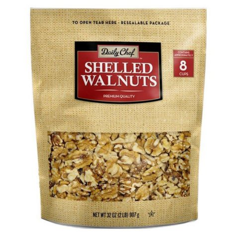 Daily Chef Shelled Walnuts (32 oz.)