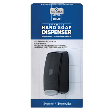mark commercial foaming hand soap dispenser