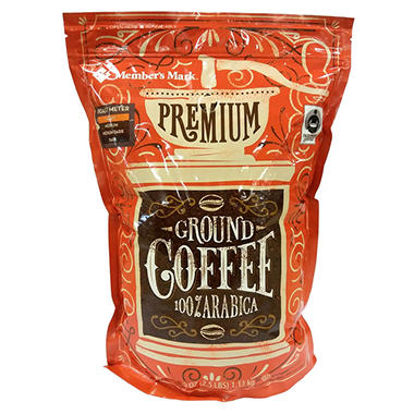 Member's Mark Premium Ground Coffee (40 oz.) - Sam's Club on coffee bean, green tea, rock house on the grounds, green tea grounds, soft drink, instant coffee, black grounds, french press for grounds, espresso grounds,