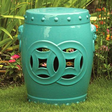 Ceramic Garden Stool   18