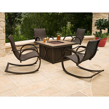 Memberu0027s Mark® Copa 5 Piece Fire Pit Chat Set, Original Price $999.00