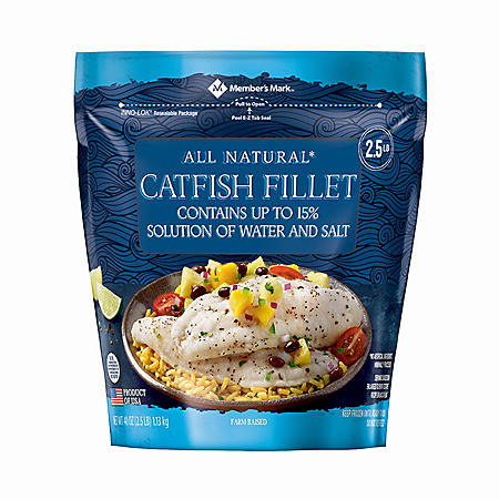 Member's Mark Catfish Fillets (2.5 lbs.)