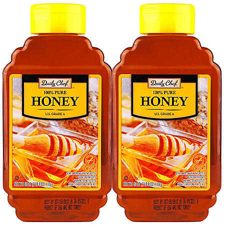 Daily Chef 100% Pure Honey (40 oz. bottle, 2 pk.)