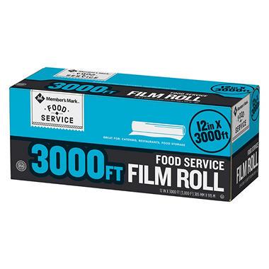 Member S Mark Foodservice Film 12 X 3 000 Sam S Club