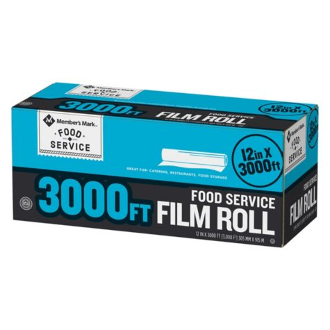 "Member's Mark Foodservice Film (12"" x 3,000')"