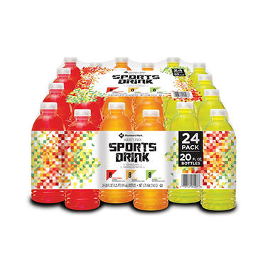 Members Mark Sport Drink Variety Pack 20 Oz 24 Pk Sams Club