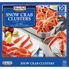 Daily Chef Snow Crab Clusters (10 lbs.)