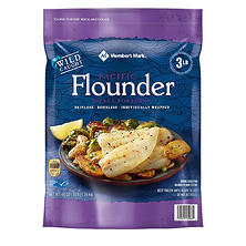 Daily Chef Wild Alaska Flounder Fillets (3 lbs.)