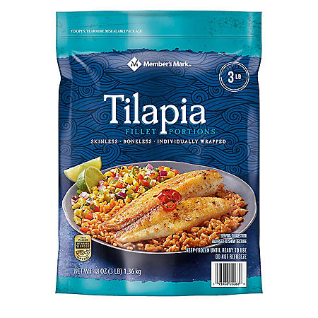 Member's Mark Tilapia Fillets (3 lbs.)