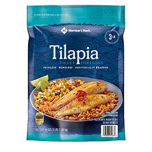 Member's Mark Tilapia Fillets (3 lbs.)